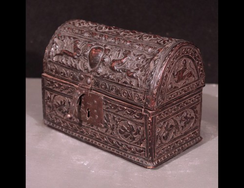 Leather Box, Italy 16th Century - Objects of Vertu Style Renaissance