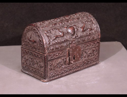 Objects of Vertu  - Leather Box, Italy 16th Century