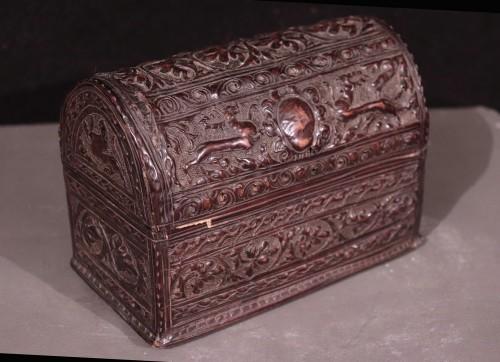 Leather Box, Italy 16th Century - Renaissance