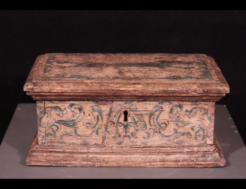 Objects of Vertu  - Lacquered Wooden Box, Italy,17th Century