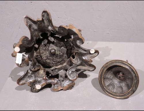 Bronze Inkwell, Padua 16th Century - Decorative Objects Style Renaissance
