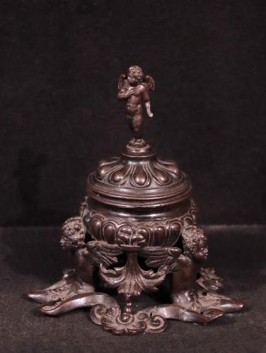 <= 16th century - Bronze Inkwell, Padua 16th Century