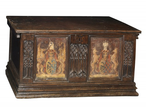 Gothic  Chest, Italy 15th century