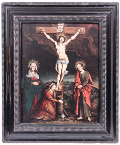 Crucifixion - Flemish master of the 16th century