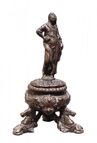 Bronze Inkwell, Padua 16th Century