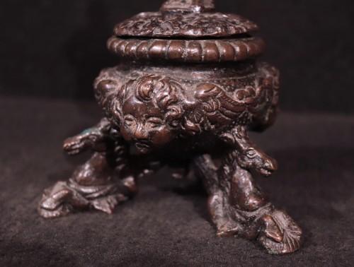 Decorative Objects  - Bronze Inkwell, Padua 16th Century