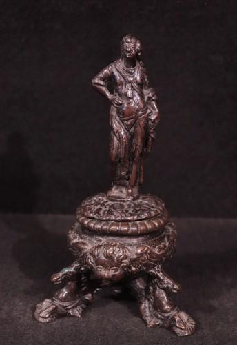 Bronze Inkwell, Padua 16th Century -
