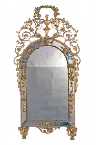Large Golden Mirror, Turin, Luis XVI, 18th century
