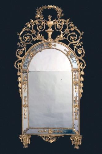 Louis XVI - Large Golden Mirror, Turin, Luis XVI, 18th century