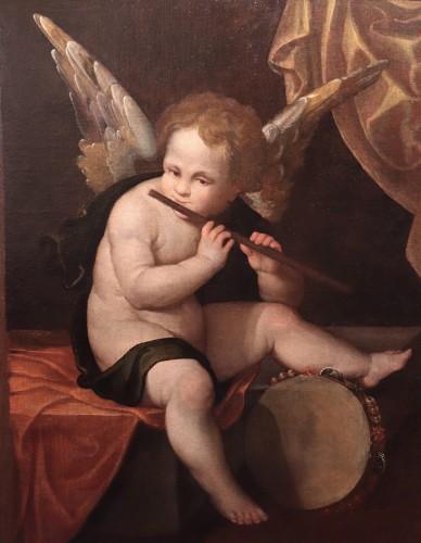 Paintings & Drawings  - Francesco Vecellio (ca 1475-1560 Ca) - Angel Musician