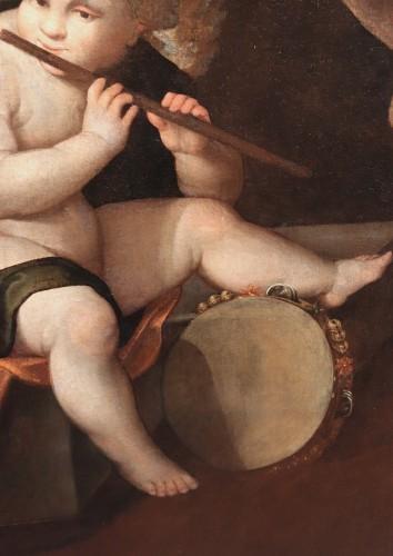 Francesco Vecellio (ca 1475-1560 Ca) - Angel Musician -