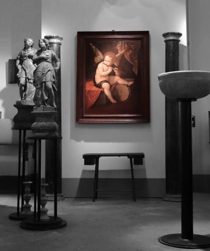 <= 16th century - Francesco Vecellio (ca 1475-1560 Ca) - Angel Musician