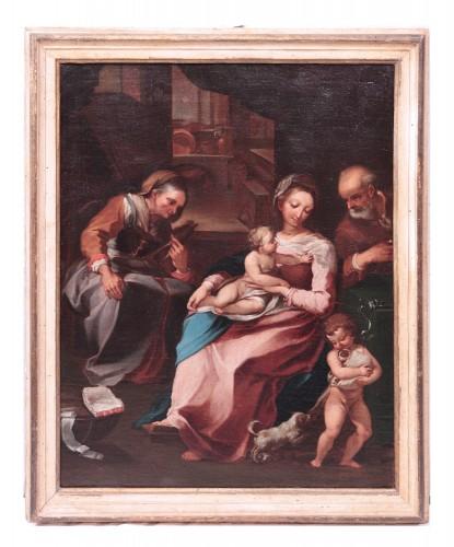 Ventura Salimbeni (Siena 1568-1613) - Holy Family