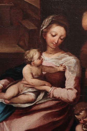 Paintings & Drawings  - Ventura Salimbeni (Siena 1568-1613) - Holy Family