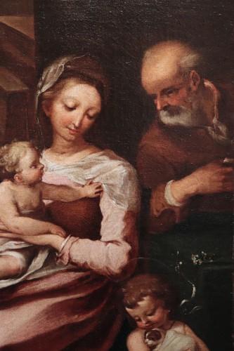Ventura Salimbeni (Siena 1568-1613) - Holy Family -