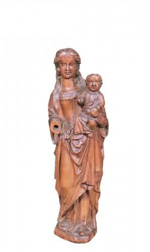 Madonna And Child, Belgium 16th century