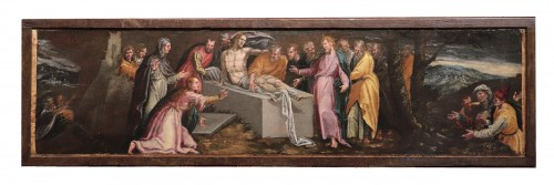 Resurrection Of Lazarus - Pauwels Francken (1540 -1596)