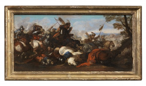 Jacques Courtois known as Borgognone (1621-1676) - Battles - Paintings & Drawings Style