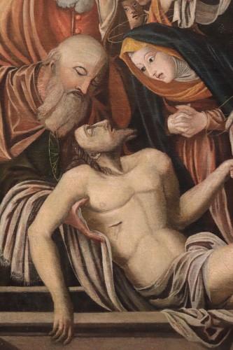 "Paintings & Drawings  - BARTOLOMEO SUARDI ""BRAMANTINO"" and workshop - (Milan 1465-1530) Deposition"