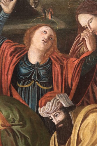 <= 16th century - BARTOLOMEO SUARDI &quot;BRAMANTINO&quot; and workshop - (Milan 1465-1530) Deposition