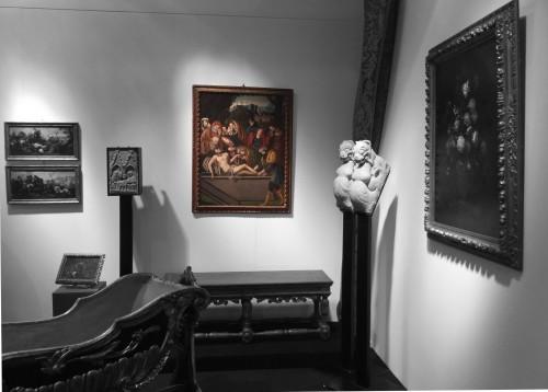 "BARTOLOMEO SUARDI ""BRAMANTINO"" and workshop - (Milan 1465-1530) Deposition - Renaissance"