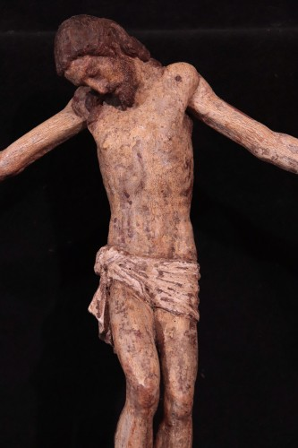 Sculpture  - Wooden Christ With Articulated Arms, Florence '400