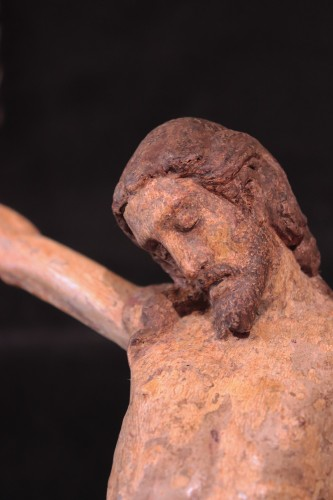 <= 16th century - Wooden Christ With Articulated Arms, Florence &#039;400