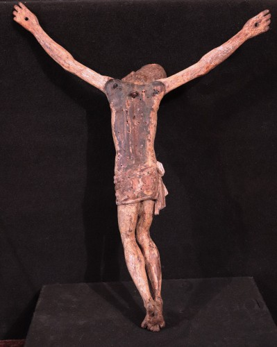 Wooden Christ With Articulated Arms, Florence '400 - Middle age