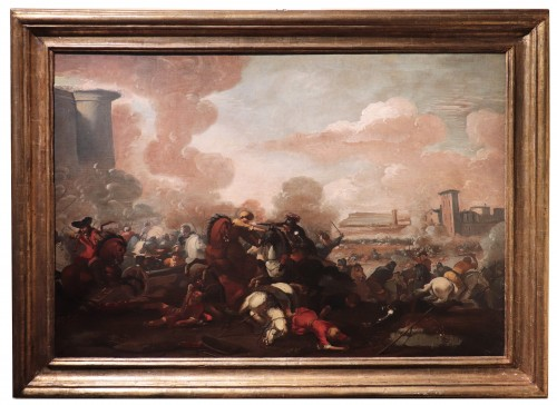 Marzio Masturzo (Rome 17th century) - Battle