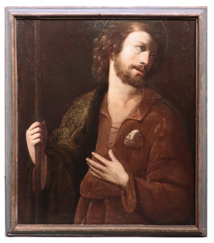 Portrait : Apostle Saint James - Francesco Leoncini (Tuscany 17th century