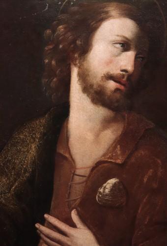 Portrait : Apostle Saint James - Francesco Leoncini (Tuscany 17th century - Paintings & Drawings Style Renaissance