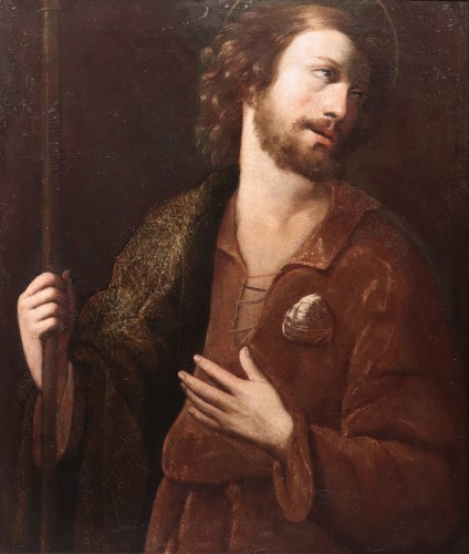 Paintings & Drawings  - Portrait : Apostle Saint James - Francesco Leoncini (Tuscany 17th century
