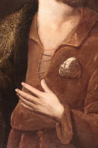 17th century - Portrait : Apostle Saint James - Francesco Leoncini (Tuscany 17th century