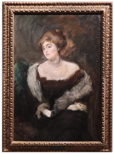 Emilio Gola (1851-1923) - Portrait