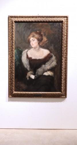 19th century - Emilio Gola (1851-1923) - Portrait