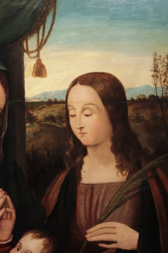 Renaissance - Francesco Rizzo Da Santacroce (1485-1545) - Holy Family