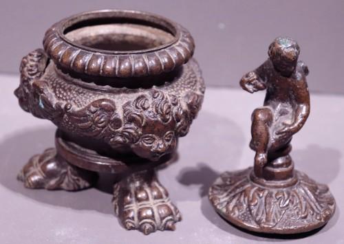 Bronze inkwell, Veneto, 16th century -