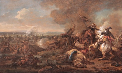 Philips Wouwerman (Haarlem 1619 - 1668) - Batlle -