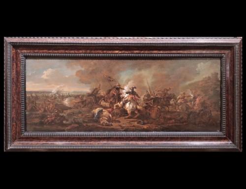 Philips Wouwerman (Haarlem 1619 - 1668) - Batlle - Louis XIII