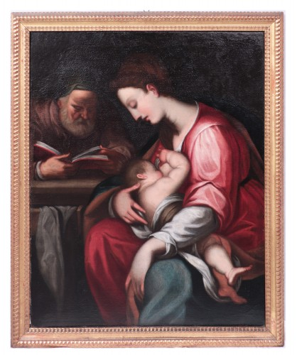 Giovanni Battista Paggi (Genoa 1554-1627) - Holy Family