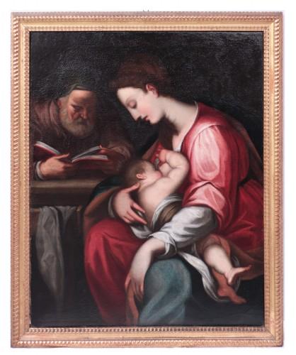 Giovanni Battista Paggi (Genoa 1554-1627) - Holy Family