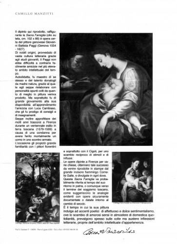 <= 16th century - Giovanni Battista Paggi (Genoa 1554-1627) - Holy Family