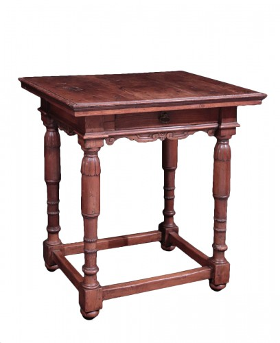 Walnut Table, Florence, 16th Century