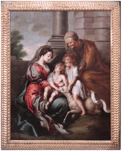 Cornelis Schut the Elder (1597-1655)  - Holy Family