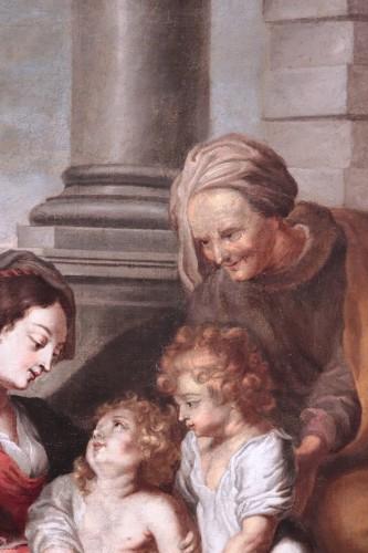 Paintings & Drawings  - Cornelis Schut the Elder (1597-1655)  - Holy Family