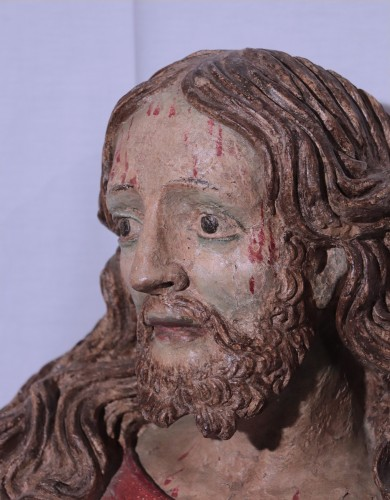 Sculpture  - Terracotta Bust of Christ, Italy, 16th century