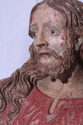 Terracotta Bust of Christ, Italy, 16th century -