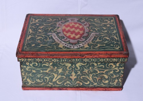 Lacquered box, Tuscany 17th century - Objects of Vertu Style Renaissance