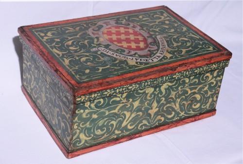 Lacquered box, Tuscany 17th century - Renaissance