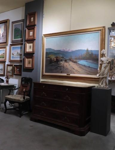 Ferruccio Rontini(1893 - 1964) - Landscape - Paintings & Drawings Style Art nouveau